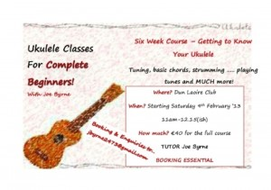 Joe's Ukulele Course